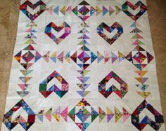 GORGEOUS FRENCH BRAIDS Quilt Top 350 Cotton by Quiltingfamily