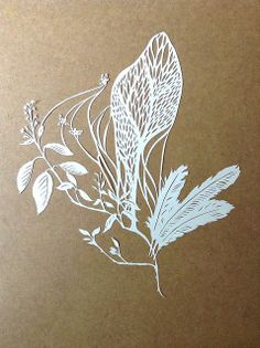 swarm | paper cutting by jenny lee fowler