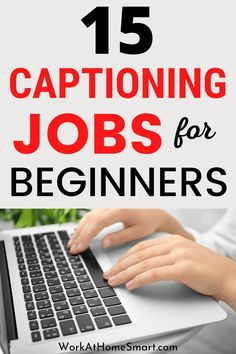Looking for legit work from home captioning jobs to earn extra cash? If so, we have you covered here. Typing Jobs From Home, Online Typing Jobs, Online Jobs, Captioning Jobs, Reading For Beginners, Legit Work From Home, Earn Extra Cash, Home Jobs