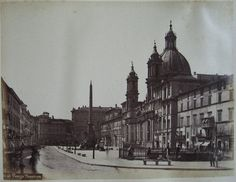 Piazza Navona ante 1875