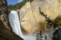 Grand Canyon de Yellowstone (from Krupa photographies - Galeries) Yellowstone National Park, National Parks, Wyoming, Landscape Photography, Nikon, Grand Canyon, Waterfall, Around The Worlds, Usa