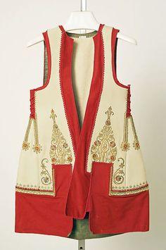 Jacket, 19th century, Greece, Medium: cotton, silk