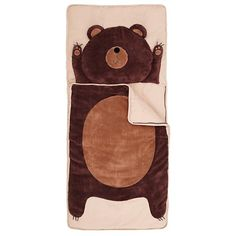 How Do You Zoo Sleeping Bag (Bear) in Sleeping Bags   The Land of Nod