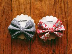 LuluLuvs Bows & Bowties at Darling Clementine
