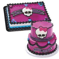 Monster High Cake For Ashley And Autumn Kirsten S Cakes