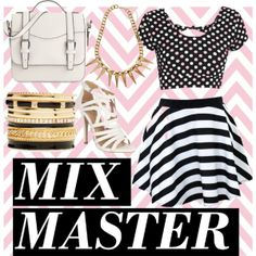 """mix master"" by milky-silvers on Polyvore"