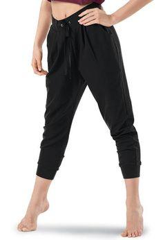 Fun, inexpensive practice pants! Harem Capri Sweatpants - Balera