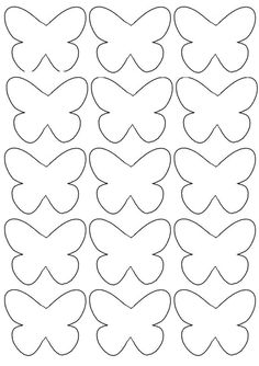 Crafts For Kid Inspiration For Children Of All Ages - Lumax Homes Butterfly Template, Butterfly Crafts, Flower Template, Crown Template, Butterfly Mobile, Heart Template, Preschool Crafts, Diy Crafts For Kids, Art For Kids
