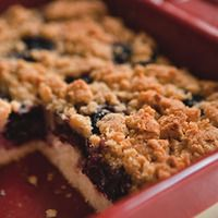 Cherry Breakfast Cake    rachaelraymag.com