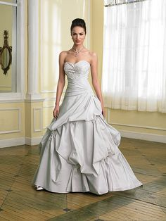 Dreamed of having a silver wedding dress but now there are so many colors! I like options!