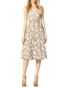 Floral-Embroidered Dance Dress by Michael Kors at Neiman Marcus.