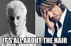 Keith Urban.  What a difference a few hit songs make.  lol.
