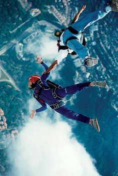 Adventure.....everyone needs it in their lives!  I've been skydiving before....LOVED IT!!: