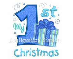 My First Christmas Present Applique Machine by AppliquetionStation