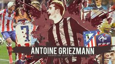 Antoine Griezmann Atletico Madrid Wallpaper
