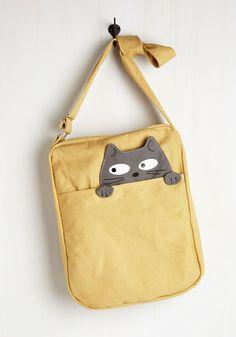 Handbags - Got One Friend in My Pocket Bag in Cat