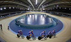 Olympic velodrome in Stratford, London. Photograph: Eddie Keogh/Reuters