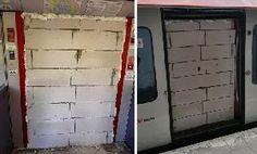 Bricked Train – Unbekannte mauern Wagentür einer S-Bahn zu - http://www.dravenstales.ch/bricked-train-unbekannte-mauern-wagentuer-einer-s-bahn-zu/