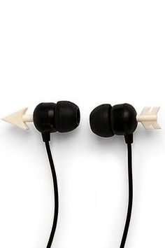 Love these arrow headphones! Gym Gear That'll Do Your Workout Justice Presents For Girls, Unique Presents, Iphone Accessories, Travel Accessories, Kawaii Accessories, Batterie Portable, Cute Headphones, Accessoires Iphone, Accesorios Casual