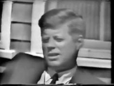 Footage of JFK and Jacqueline during August of The footage shows the preparations going on at Otis Air Force base and in Bo. Kennedy Speech, Famous Speeches, John Fitzgerald, John Kennedy, Jfk, Journalism, Nonfiction, Presidents, Interview