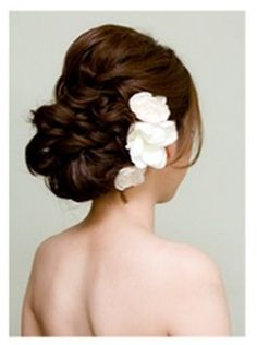 Post your hair inspiration :) : wedding Wedding Updo 3 Beach Wedding Hair, Wedding Hair And Makeup, Wedding Updo, Bridal Hair, Wedding Hairstyles, Hair Makeup, Prom Updo, Good Hair Day, Great Hair