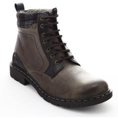 Casual boots, easy to wear with jeans and a shirt. You can get 5% cashback for shopping from OtterShop via CashOUT #cashback #menboots #menfashion Casual Boots, Hiking Boots, Combat Boots, Men's Fashion, Jeans, Shirt, How To Wear, Shopping, Trainer Boots