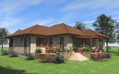 Modern Family House, Spanish House, Coastal Living, My Dream Home, Beautiful Homes, Gazebo, House Plans, Sweet Home, New Homes