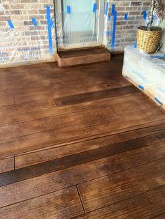 Large Aggregate Decorative Concrete Polishing In Oklahoma City - Flooring contractors okc