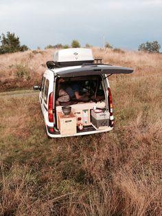 Berta235, van camping, diy, frugal travel