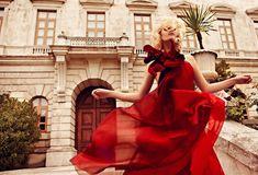 Nadia Serlidou by Koray Birand for Harper's Bazaar Turkey June 2011