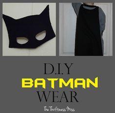 Diy batman costume pinterest diy batman costume batman costumes batman costume for kids diy template google search solutioingenieria Images