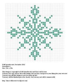 snowflake 1  https://kincavelkrosses.wordpress.com/2012/12/19/snowflake-1/