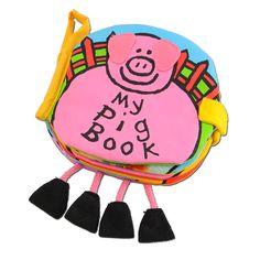 jellycat/布えほん My Pig Book 2625yen 赤ちゃんの興味が尽きない魔法の絵本