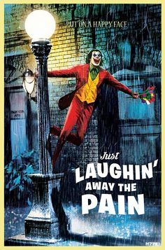 This week, in honor of the release of the Joker's new film, our artists draw the Joker into homages of classic movie posters. Joker Batman, Comic Del Joker, Joker Y Harley Quinn, Gotham Joker, Joker Film, Batman Comics, Batman Arkham, Batman Robin, Batman Art