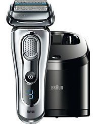 Braun Series 9 Brand NewIncludes Two Year WarrantyThe Braun Series 9 wet and dry electric shaver features Intelligent SyncroSonic technology allows cross-cutting actions per minute for an outstandingly thorough shave. The pivoting shaving head and 4 in Best Electric Razor, Best Electric Shaver, Electric Razors, Shave Shop, Braun Shaver, Foil Shaver, The Art Of Shaving, Men's Shaving, Fast Hairstyles