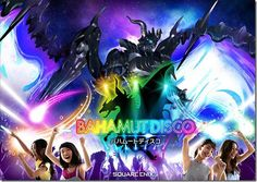 Japanese Theme Park Is Taking Final Fantasy's Bahamut to the Disco
