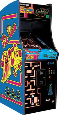 Classics never die! Introduce a new generation to some of the timeless classics we all grew up with! Full size arcade for home use. The best selling games ever includinghidden bonus games. Pac-Man, Sp