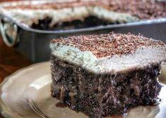 """απόλαυση""""Αmazing chocolate cake for my name day LIVE Greek Sweets, Greek Desserts, Party Desserts, Greek Recipes, Desert Recipes, Food Network Recipes, Food Processor Recipes, Cooking Recipes, Greek Pastries"""