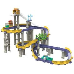 Amazon.com : Chuggington StackTrack Brewster's Big City Adventure : Childrens Die Cast Vehicles : Toys & Games $94.99