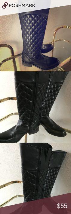"Steve Madden Riding Boots Good condition Steve Madden ""Reggo"" leather riding boot. Steve Madden Shoes"