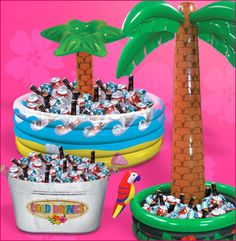 pinterest adult 50th tropical pool party | Beach Party Perfect Theme Adult Kids Pool Party | Birthday Party Ideas