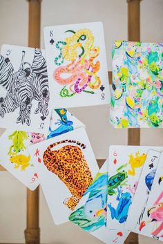 Poker Face, Love Is All, Clear Acrylic, Over The Years, Flamingo, Safari, Playing Cards, Birds, Letters