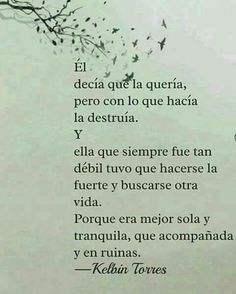 Autoayuda y Superacion Personal True Quotes, Book Quotes, Words Quotes, Sayings, Quotes En Espanol, Little Bit, Love Phrases, More Than Words, Spanish Quotes