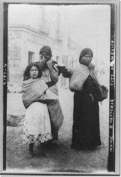 Women of Oaxaca, May 1911.