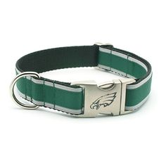 Philadelphia Eagles Dog Collar with Laser Etched by LaserPets, $25.00