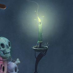 """Charlie Immer Supersonic Art """"Skull Barron"""""""