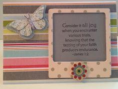 2x2 $3.99 Single Scripture stamps; Inspired Stamps; Belinda