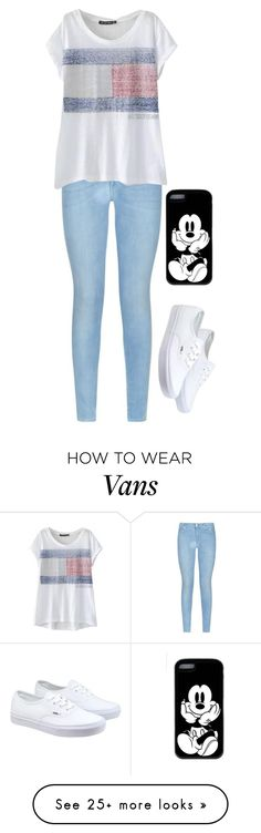 """""""Untitled #828"""" by r-redstall on Polyvore featuring мода, 7 For All Mankind, Vans, women's clothing, women's fashion, women, female, woman, misses и juniors"""