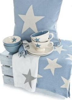 Star Pillow and Blanket