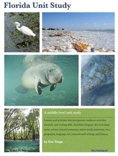 Florida Ecology Unit: Free Unit Study for Earth Week 2014 - Eva Varga